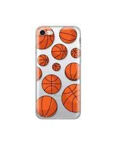Husa iPhone 8 / 7 Lemontti Silicon Art Basketball