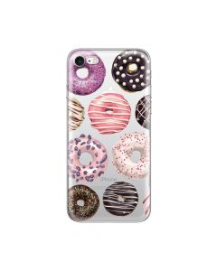 Husa iPhone 8 / 7 Lemontti Silicon Art Donuts