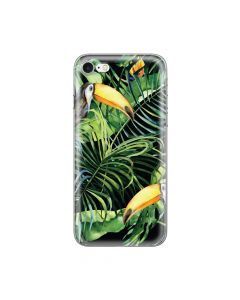 Husa iPhone 8 / 7 Lemontti Silicon Art Tropic
