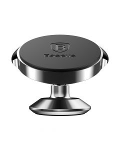 Suport Baseus Auto Small Ears Magnetic Black (rotatie 360°, cu adeziv)