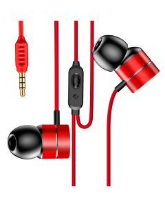 Casti Jack 3.5mm Baseus Encok H04 Red (in-ear)