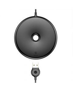 Incarcator Wireless Baseus Donut Black (incarcare Qi, tip pad)