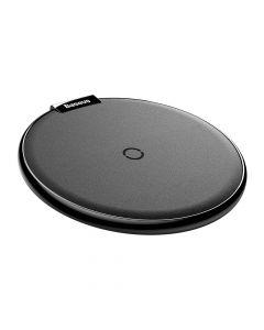 Incarcator Wireless Baseus iX Desktop Black (incarcare Qi, tip pad, suprafata piele)