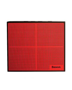 Boxa Wireless Baseus Encok Music-Cube E05 Red & Black