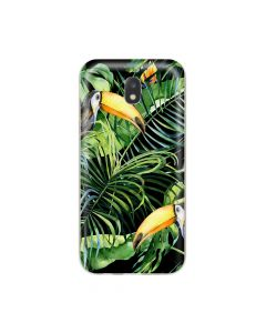 Husa Samsung Galaxy J3 (2017) Lemontti Silicon Art Tropic