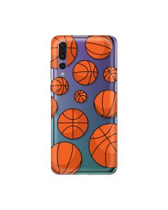 Husa Huawei P20 Pro Lemontti Silicon Art Basketball