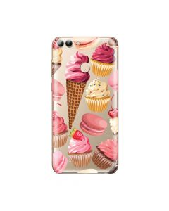 Husa Huawei P Smart Lemontti Silicon Art Cookies