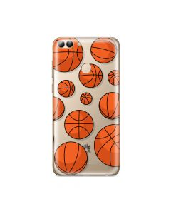 Husa Huawei P Smart Lemontti Silicon Art Basketball