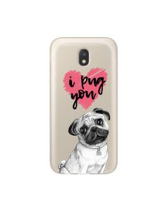 Husa Samsung Galaxy J5 (2017) Lemontti Silicon Art Pug You