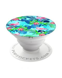 Suport Popsockets Stand Adeziv Rainforest Flamingos