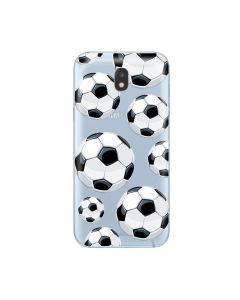 Husa Samsung Galaxy J3 (2017) Lemontti Silicon Art Football