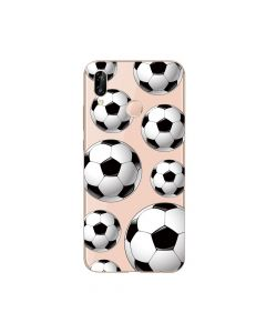 Husa Huawei P20 Lite Lemontti Silicon Art Football