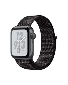 Apple Watch 4 Nike+ GPS Space Gray Aluminium Case 40mm cu Black Nike Sport Loop