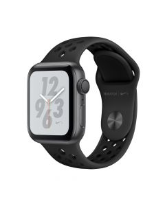Apple Watch 4 Nike+ GPS Space Gray Aluminium Case 40mm cu Anthracite/Black Nike Sport Band