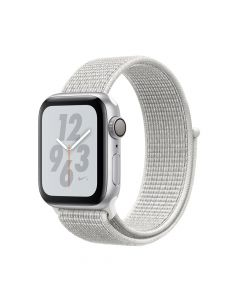 Apple Watch 4 Nike+ GPS Silver Aluminium Case 40mm cu Summit White Nike Sport Loop