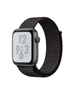 Apple Watch 4 Nike+ GPS Space Gray Aluminium Case 44mm cu Black Nike Sport Loop
