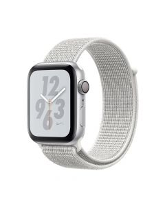 Apple Watch 4 Nike+ GPS Silver Aluminium Case 44mm cu Summit White Nike Sport Loop
