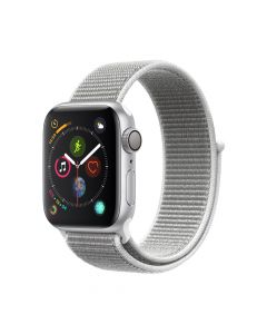 Apple Watch 4 GPS Silver Aluminium Case 40mm cu Seashell Sport Loop