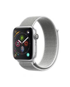 Apple Watch 4 GPS Silver Aluminium Case 44mm cu Seashell Sport Loop