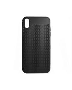 Husa iPhone XS Max Just Must Silicon Stripe Soft Black
