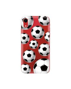 Husa iPhone XR Lemontti Silicon Art Football