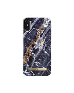 Carcasa iPhone X iDeal of Sweden Fashion Midnight Blue Marble