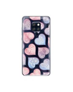 Husa Huawei Mate 20 Pro Lemontti Silicon Art Hearts
