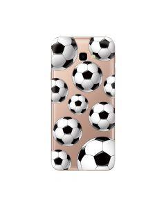 Husa Samsung Galaxy J4 Plus Lemontti Silicon Art Football