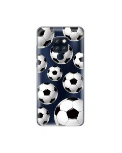 Husa Huawei Mate 20 Pro Lemontti Silicon Art Football