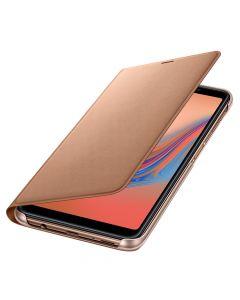 Husa Samsung Galaxy A7 (2018) Samsung Book Wallet Cover Gold