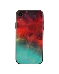 Carcasa iPhone XR Just Must Glass Print Nebula