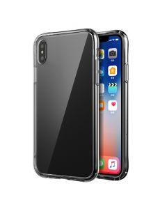 Carcasa Sticla iPhone XS / X Just Must Glass Max Clear