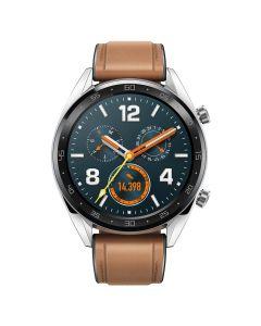 Huawei Watch GT B19V Classic Silver (curea maro)