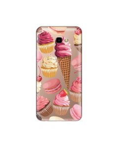 Husa Samsung Galaxy J4 Plus Lemontti Silicon Art Cookies