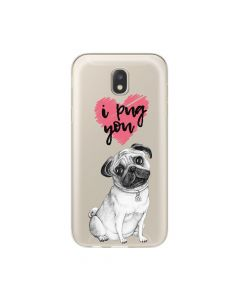 Husa Samsung Galaxy J3 (2017) Lemontti Silicon Art Pug You