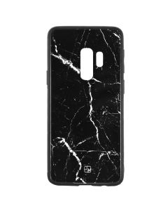 Carcasa Samsung Galaxy S9 Plus G965 Just Must Glass Print Black Marble