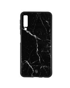 Carcasa Samsung Galaxy A7 (2018) Just Must Glass Print Black Marble