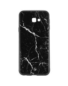 Carcasa Samsung Galaxy J4 Plus Just Must Glass Print Black Marble