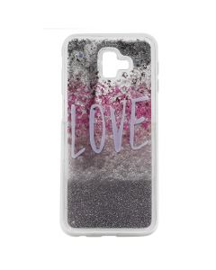 Carcasa Samsung Galaxy J6 Plus Lemontti Liquid Sand Love