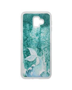 Carcasa Samsung Galaxy J4 Plus Lemontti Liquid Sand Be A Mermaid And Make Waves