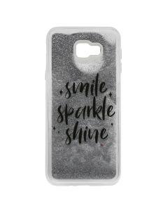 Carcasa Samsung Galaxy J4 Plus Lemontti Liquid Sand Smile, Sparkle, Shine