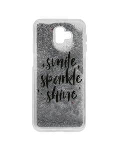 Carcasa Samsung Galaxy J6 Plus Lemontti Liquid Sand Smile, Sparkle, Shine