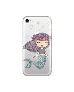 Husa iPhone 8 / 7 Lemontti Silicon Art Little Mermaid