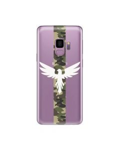 Husa Samsung Galaxy S9 G960 Lemontti Silicon Art Army Eagle