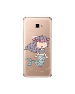 Husa Samsung Galaxy J4 Plus Lemontti Silicon Art Little Mermaid
