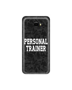 Husa Samsung Galaxy J4 Plus Lemontti Silicon Art Personal Trainer