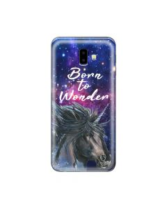 Husa Samsung Galaxy J6 Plus Lemontti Silicon Art Born To Wonder