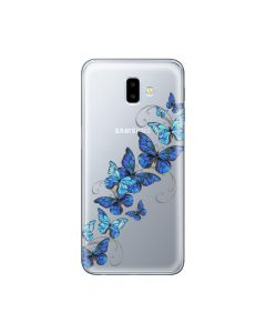 Husa Samsung Galaxy J6 Plus Lemontti Silicon Art Butterflies