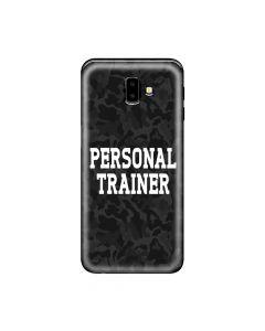 Husa Samsung Galaxy J6 Plus Lemontti Silicon Art Personal Trainer