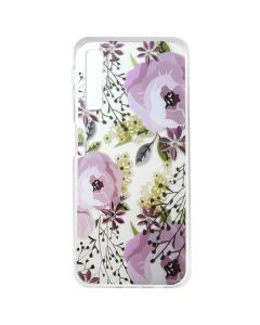 Husa Samsung Galaxy A7 (2018) Lemontti Silicon Art Flowers